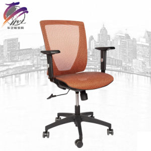 Adjustable Armrest Mesh Ergonomic Steel Office Chair pictures & photos