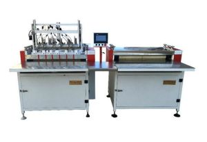 Double Station Semi Auto Case Making Machine pictures & photos