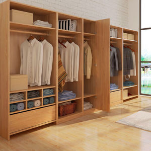 Factory Price Any Style Customized Folding Wardrobe pictures & photos