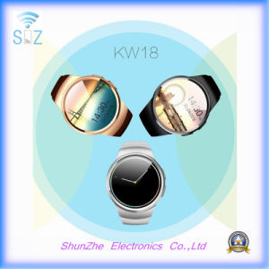 Kw18 Fashion Alarm Clock Andriod Smart Watch with Bluetooth Phone Call Function pictures & photos