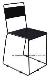 Modern Replica Metal Furniture Plywood Side Dining Chair pictures & photos