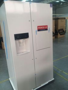 Side by Side Refrigerator Freezer with PCM White Color pictures & photos