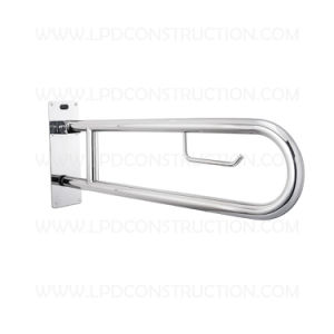 U Shape Swing up Handrail Folding up Grab Bar