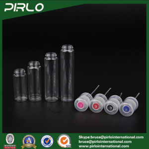 (15ml 20ml 25ml 30ml) Pet Tubular Round Plastic Perfume Atomizer Refillable Fine Mist Sprayer Bottle pictures & photos