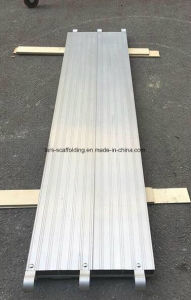 Construction Aluminum Scaffolding Walk Boards/ Aluminium Plank Scaffold with Hook pictures & photos