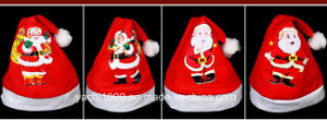 Plush Christmas Hat for Adults and Kids pictures & photos