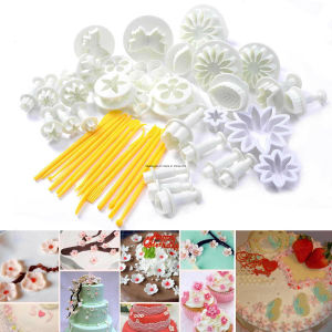 Fondant Cake Decoration Tool Set Sedhoom Catalina Fondant Cake Cutter Mold with Rolling Pin Smoother Embosser Mold Mould Tools Esg10158 pictures & photos
