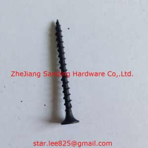 Plug Head Harden Black Phosphorus Drywall Screw pictures & photos