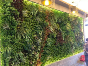 Artificial Grass Wall for Hotel Decor pictures & photos
