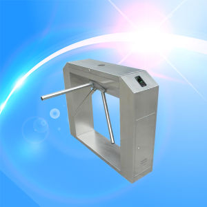 Automatic Waist High Access Control Tripod Turnstile for Office and Factory pictures & photos