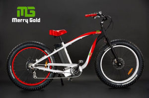Popular Fat Tyre Powerful Beach Cruiser Electric Bike pictures & photos