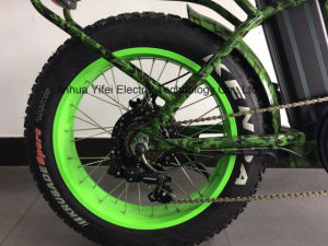 20 Inch Folding Fat Electric Bike with Lithium Battery for Fun pictures & photos