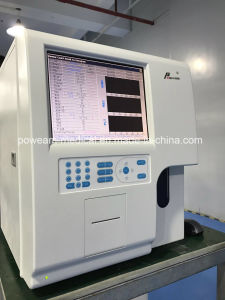 Ce Approved Clinic Automatic 3 Part Hematology Analyzer (WHY6390) pictures & photos