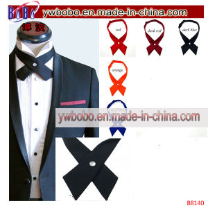 Cross Bowtie Necktie Cravat Bow Pre Tie Printed Ties (B8140) pictures & photos