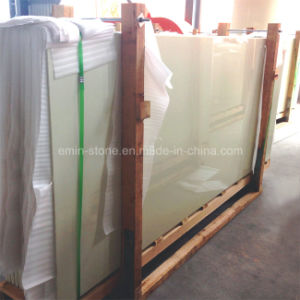 Pure Beige Color Nano Glass for Wall Panel pictures & photos