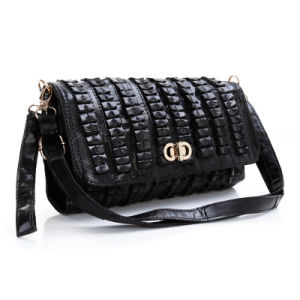 Genuine Leather Wristlet Clutch Party Bag Women Fashion Evening Handbags pictures & photos