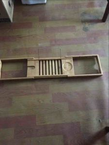 Bamboo Bathtub Caddy, Bathtub Bamboo Caddy, Bathroom Bamboo Caddy pictures & photos