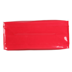 Red Waterproof PVC Candy-Colored Handbag (23135) pictures & photos