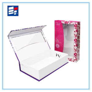 Custom Window Paper Gift Box for Electronic Showing pictures & photos