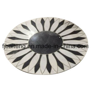 Marble Waterjet Medallion Floor Tile pictures & photos