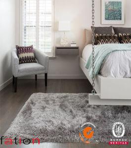 100% Polyester Luxus Plain Shaggy Carpet Bedroom Area Rug