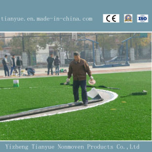 Fire Resistant Soccer Synthetic Grass Lawn pictures & photos