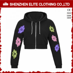 Fashion Print Custom Made Plain Cheap Womens Hoodies (ELTCHI-12) pictures & photos