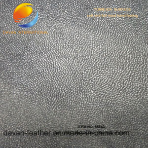 High Quality Synthetic Leather for Shoe with Flocking Surface pictures & photos