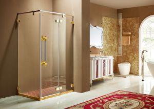 Antique Design Oak Wood Bathroom Cabinet Sw-63028-10 pictures & photos