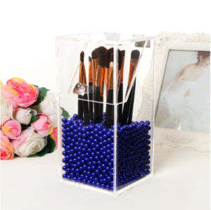Clear Acrylic Brush Holder Wholesale pictures & photos