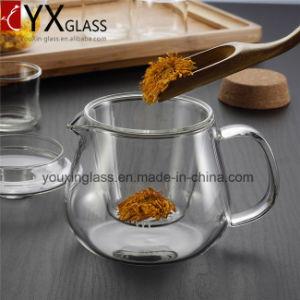 500ml Hot-Sale Glass Teapot/Borosilicate Heat-Resistant Glass Tea Kettle/Water Carafe Turkish Tea Glass Flower Booming Tea Set pictures & photos