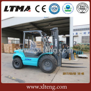 High Ground Clearance New 2 Ton off Road Forklift Truck pictures & photos