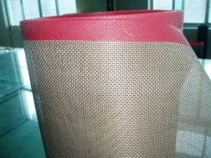Teflon Open Mesh Conveyor Belt pictures & photos