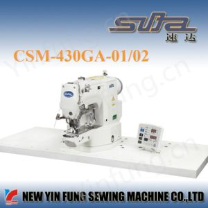 Super Fast High Efficiency Bartacking Industrial Sewing Machine pictures & photos