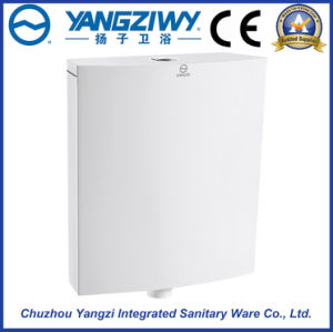 Wall-Mounted PP Toilet Cistern for Squatting Pan (YZ1098) pictures & photos