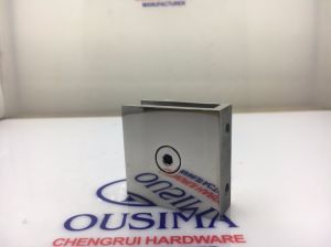 0 Degree Die Casting Square Shower Room Glass Fixed Clamp (CR-G01) pictures & photos
