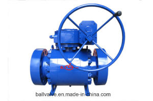 A350 Lf2 A182 F304 F316 Forged Steel Ball Valve