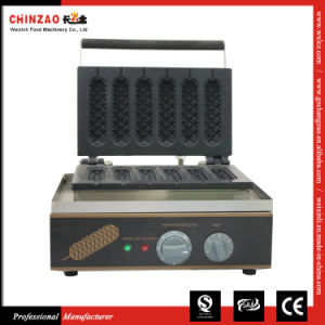 Commercial Automatic Electric 6 Muffin Hotdogs Muffin Hot Dog Making Machine pictures & photos