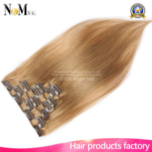 Beautiful Virgin Human Hair Blonde Color Hair Extension pictures & photos