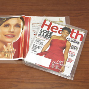 Self Adhesivetransparent PVC Printed Book Cover 50X36cm pictures & photos