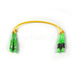 SC/UPC-SC/UPC Duplex Singlemode 9/125 Fiber Optic Patch Cord / Optical Fiber Jumper pictures & photos