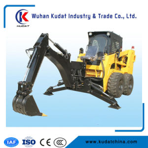 Skid Steer Loader with Backhoe pictures & photos
