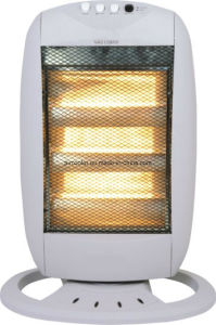 Small Size Halogen Heater with Osicillating pictures & photos