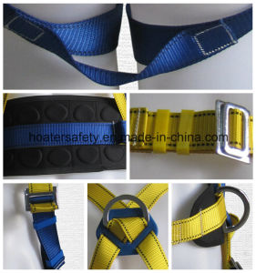 Linan Hoater Safety Belt Fall Protection Men Body Harness pictures & photos