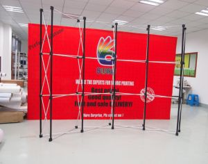 Magnetic Curved Pop up Display (SS-P3) pictures & photos
