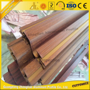 OEM Wooden Grain Kitchen Aluminum Frame for Kitchen Furniture pictures & photos