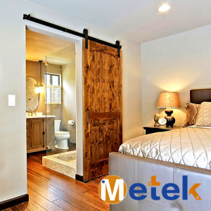 Heavy Duty Style Double Hung Sliding Barn Doors with Hardware pictures & photos