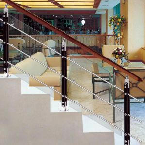 Stainless Steel Casting Toughened Glass Railing Glass Clamp pictures & photos