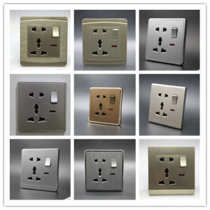 One Gang 5 in Switch Socket pictures & photos