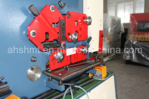 Ironworker, Hydraulic Punch and Shearn, Multi-Function Machine with Punching and Cutting pictures & photos